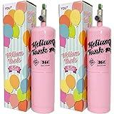 YOU+ ヘリウムガス バルーン・風船用 使い捨て ヘリウム缶 補充用 (2本(70L))