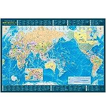 東京カートグラフィック 世界地図 世界のありがとう A2 MP-1310105T