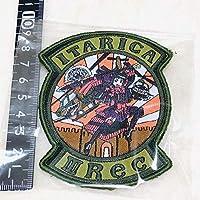 日本未発売 WGW「ITARICA」刺繍ワッペン
