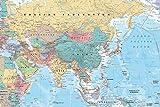 ポスター アジア地図 GN-0761