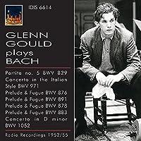 Bach, J.S.: Gould Plays