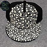 NIKE 野球用品 lumipartyヒップホップ帽子野球キャップグローin theダークナイトグリーンライトLove