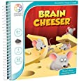 SmartGames Brain Cheeser Magnetic Puzzle Game, Multicolor