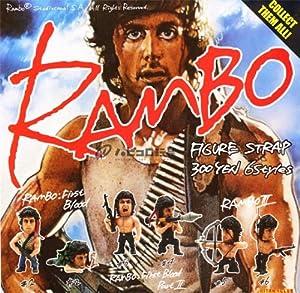 RAMBO ランボー フィギュアストラップ全6種セット