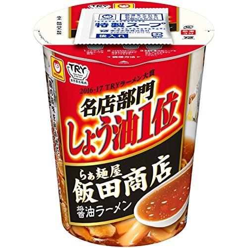 マルちゃん 縦型ビッグ 飯田商店 醤油ラーメン 94g×12個