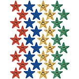 Eureka Smiling Stars Stickers, Multi Color おもちゃ [並行輸入品]
