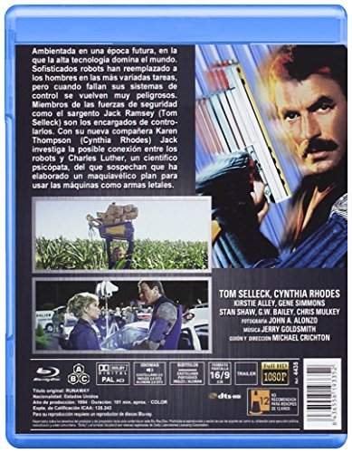 Runaway, Brigada Especial 1984 BD [Blu-ray]