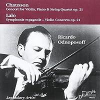 Concert Op 21 / Symphony Espag by RICARDO / MRAZEK,EDUARD ODNOPOSOFF (2001-05-23)
