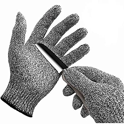 軍手 防刃 防刃手袋 作業用 手袋 作業グローブ 切れない手袋 耐切創手袋 (S(防刃5級))