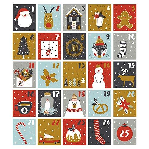 ウォールステッカー クリスマス 飾り 60×60cm シール...