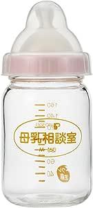 【耐熱ガラス製 160ml】 ピジョン 桶谷式直接授乳訓練用 母乳相談室 哺乳びん SSサイズ乳首付 0か月~ 00719