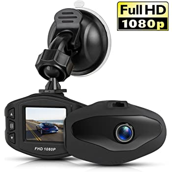KOMAKE ドライブレコーダー 車載カメラ 1080P フルHD 防犯カメラ 高速起動 170度広角1.5インチ 超小型ドラレコ 高画質 衝撃録画 駐車監視 常時録画 暗視機能