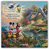 Thomas Kinkade: The Disney Dreams Collection - Sammlung der Disney-Traeume 2018: Original BrownTrout-Kalender