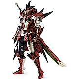 【イーカプコン限定】 モンスターハンター4 フル稼働アクションフィギュア レウスシリーズ装備ハンター 剣士