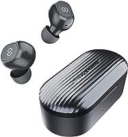 SoundPEATS(サウンドピーツ) TrueFree+ ワイヤレスイヤホン Bluetooth 5.0 完全ワイヤレス イヤホン SBC/AAC対応 35時間再生 Bluetooth イヤホン 自動ペアリング 左右独立型 マイク内蔵...