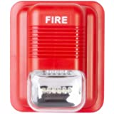 Fire Alarm Siren Security Horn Strobe Sound Buzzer 12VDC 24V