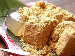 本造り笑来美餅(わらび餅) 小箱 200g 黒豆きな粉