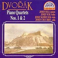 Dvorak;Piano Quartets 1 & 2
