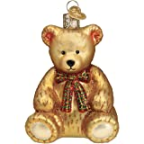 Old World Christmas Teddy Bear Ornament, Multi