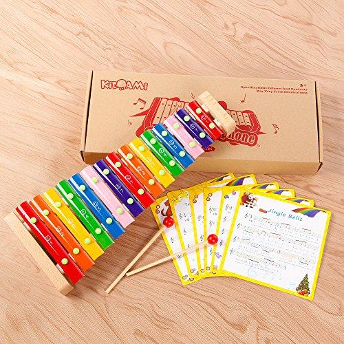 KIDAMI(キダミ) パイプシロホン コンサート小さな音楽家 演奏会 木製楽器 知育玩具