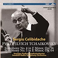 SSS0167/168 セルジュ・チェリビダッケ指揮 スウェーデン放送響 チャイコフスキー