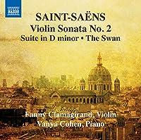 Violin Sonata No. 2/Suite in D Minor/the Swan