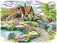 DMC クロスステッチキット 刺繍キット 夢中の花庭園
