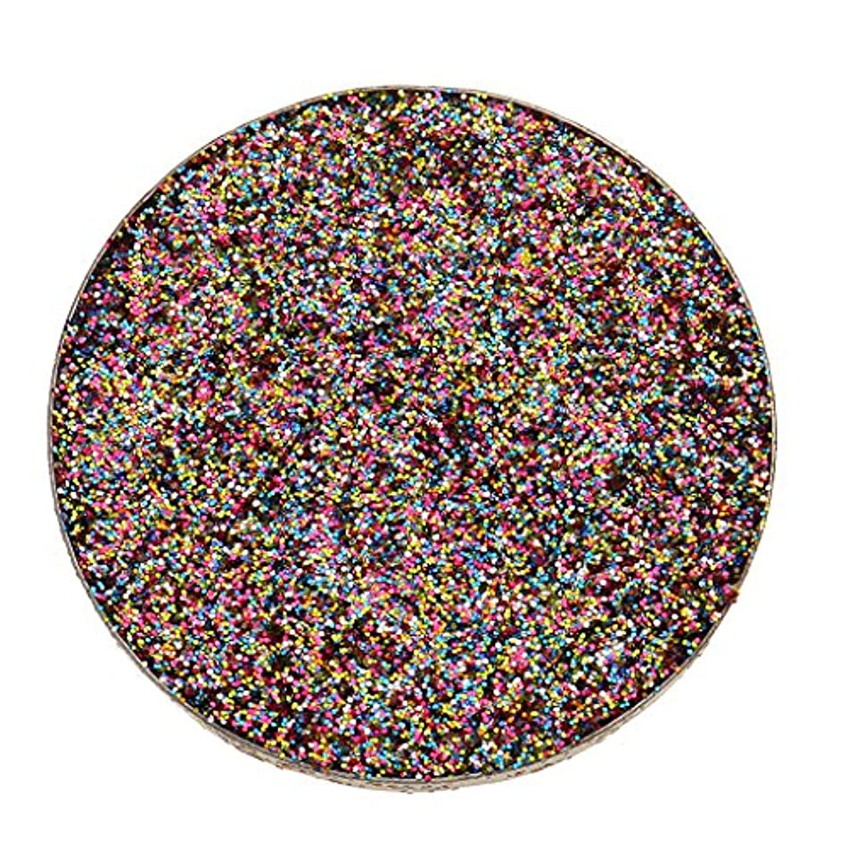 またはどちらか飽和する頑固な全5色 ダイヤモンド キラキラ シマー メイクアップ アイシャドウ 顔料 長持ち 滑らか - マルチ