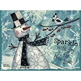 Lang Sparkleクラシッククリスマスカードby Wendy Bentley、4.25X 6インチ、12カードと封筒13( 2004025