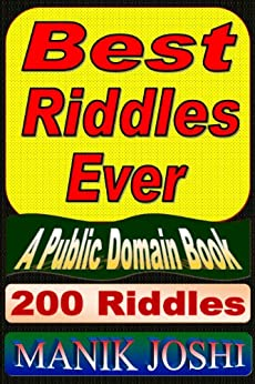 Best Riddles Ever by [Joshi, Manik]