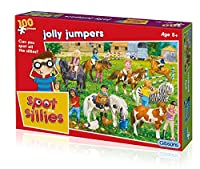 Gibsons Jolly Jumpers Spot The Sillies Jigsaw Puzzle (100 Pieces)