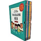 Little People, Big Dreams Trailblazing Men 5 Books Collection Box Gift Set (Muhammad Ali, David Bowie, Stephen Hawking, Bruce