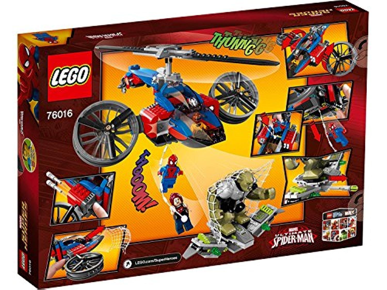 レゴ (LEGO) スーパー?ヒーローズ スパイダー?ヘリコプター?レスキュー 76016