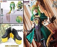 Fate/Grand Order グランドオーダー FGO アタランテ コスプレ衣装+ウィッグ +ブーツ靴+靴下+手袋+しっぽ 全セット
