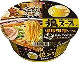 明星 狼スープ 濃厚味噌らーめん 105g×12個