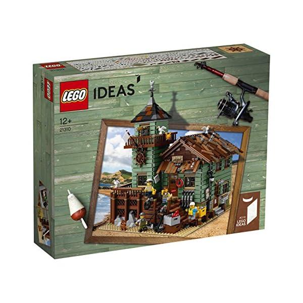 レゴ(LEGO) アイデア つり具屋 21310の商品画像