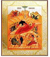 Large Nativity of Christ宗教的アイコンクリスマス157/ 8インチ