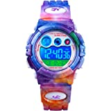 CKE Kids Watch for Boys Girls, Waterproof Sports Digital Watches for Kids with Colorful LED Light - Best Gifts for Children