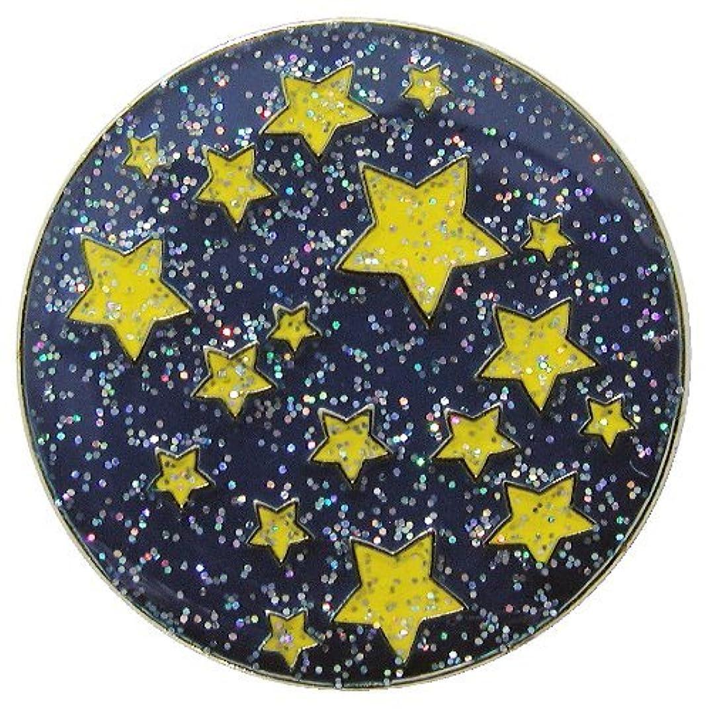 土地政策常識Navika Starry Night Glitzy Ball Marker with Hat Clip [並行輸入品]