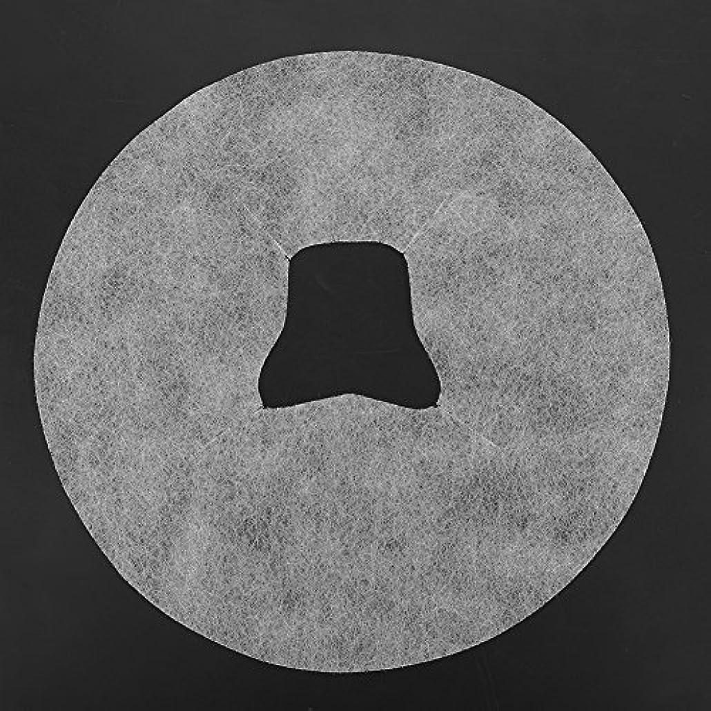 SoarUp 【100枚入】 フェイスマッサージパッド 使い捨てタオル 顔用 使い捨て 不織布材料 通気性 美容院?スパ?美容マッサージ専用 衛生的 安全 ホワイト