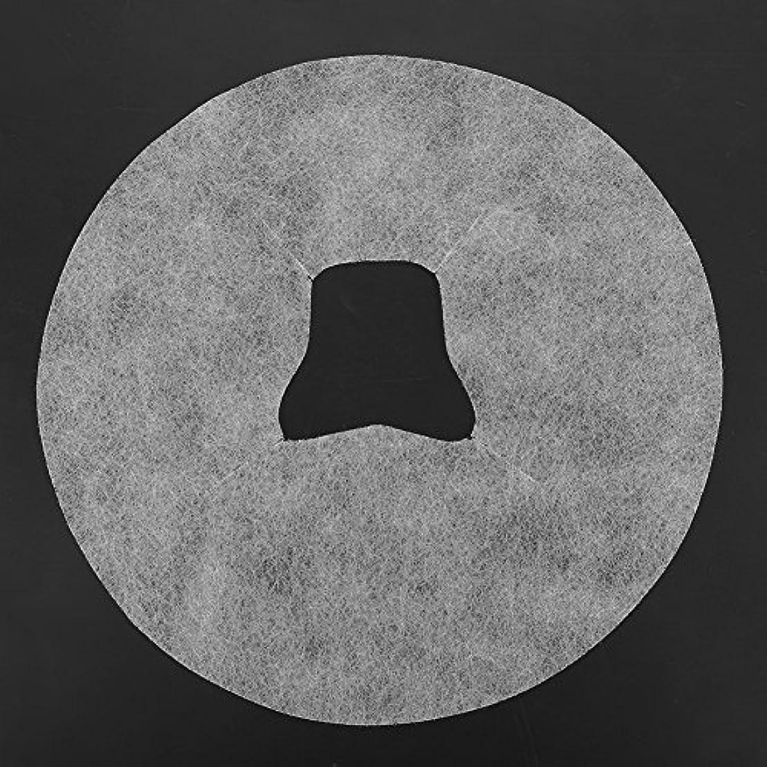 前文指導する疎外SoarUp 【100枚入】 フェイスマッサージパッド 使い捨てタオル 顔用 使い捨て 不織布材料 通気性 美容院?スパ?美容マッサージ専用 衛生的 安全 ホワイト