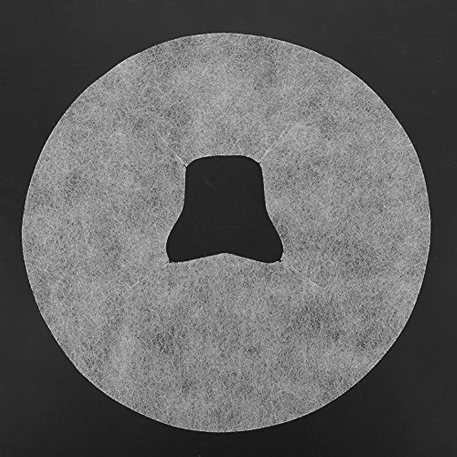 食料品店パットエンドウSoarUp 【100枚入】 フェイスマッサージパッド 使い捨てタオル 顔用 使い捨て 不織布材料 通気性 美容院?スパ?美容マッサージ専用 衛生的 安全 ホワイト