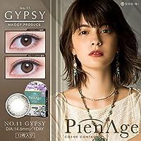 【新色】 PienAge ピエナージュワンデー 12枚入 【No.11 ジプシー】 ±0.00(度なし)
