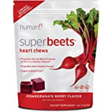 humanN SuperBeets Soft Chews | Grape Seed Extract and Non-GMO Beet Powder Helps Support Healthy Circulation, Blood Pressure,