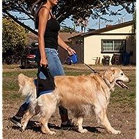 芦屋バティーズ (Walk About 後肢用 犬用ハーネス 大型犬用 XL ペット介護アドバイザー推奨) 後肢の機能が低下したワンちゃんにおすすめ 6サイズ対応