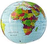 Learning Resources Inflatable World Globe 【知育玩具 地理 社会教材】 膨らませる地球儀 (ビーチボール型) 正規品