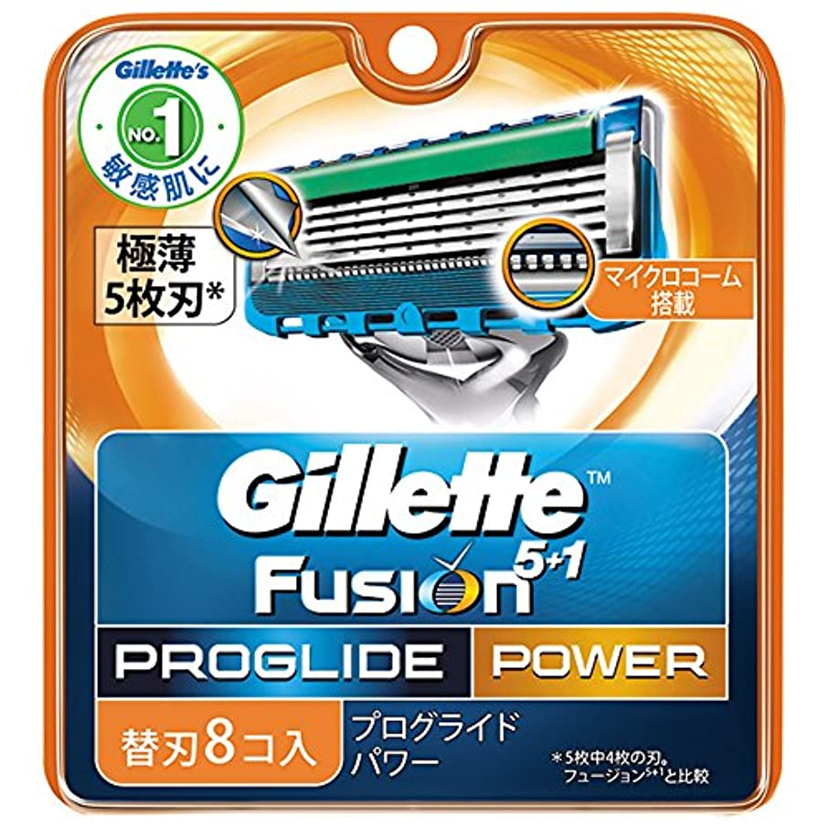 行き当たりばったりパッケージ増幅するジレット 髭剃り プログライド フレックスボール パワー 替刃8個入