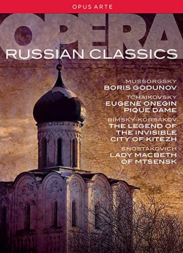 ロシア・オペラ・クラシックス - ボリス・ゴドゥノフ/エフゲニ・オネーギン/スペードの女王/見えざる町キーテジと聖女フェヴローニャの物語/ムツェンスク郡のマクベス夫人[DVD,8Discs]