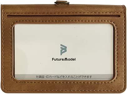 NichePhone-S 4G 専用 IDカードホルダー 本体守る 携帯便利 ニッチフォン-S専用 (ブラウン)