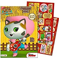 Disney Sheriff Callie Coloring and Activity Book with Stickers [Floral] [並行輸入品]